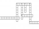 Sulphur Criss Cross Puzzle